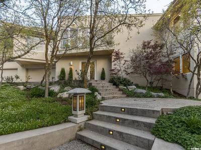 Salt Lake City Single Family Home For Sale: 3156 E Carrigan Canyon Dr S