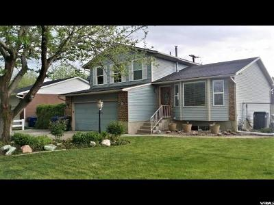 West Valley City Single Family Home For Sale: 5018 W Corilyn Cir S
