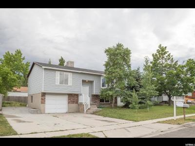 Taylorsville Single Family Home For Sale: 3439 W 5470 S