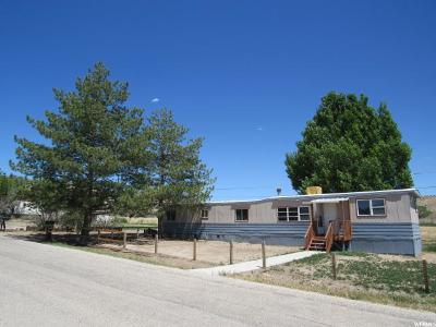 Carbon County Single Family Home For Sale: 2122 N 1200 W