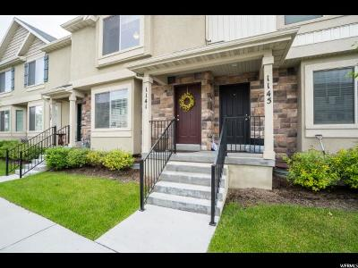 Provo Townhouse For Sale: 1141 N 1880 W
