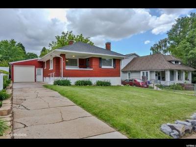 Ogden Single Family Home For Sale: 1525 E 24th St S