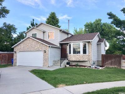 West Jordan Single Family Home For Sale: 1052 W Corral Cir