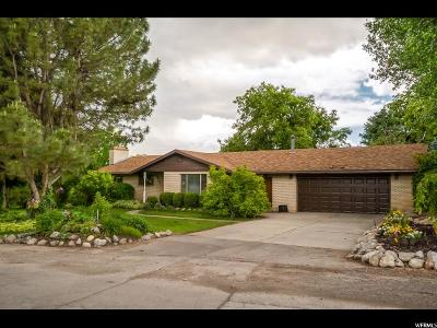 Kaysville Single Family Home For Sale: 1632 S Sunset Dr
