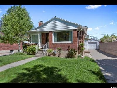 Salt Lake City UT Single Family Home For Sale: $349,500