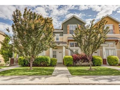 Herriman Townhouse For Sale: 5096 W Fortrose Dr S