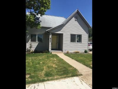 Ogden UT Single Family Home For Sale: $149,900