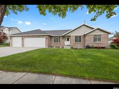 South Jordan Single Family Home For Sale: 9498 S Morywood Ln W