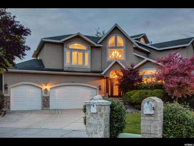 Cottonwood Heights Single Family Home For Sale: 7146 Treasure Ridge Cir