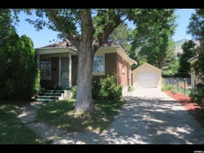 Ogden UT Single Family Home For Sale: $189,900