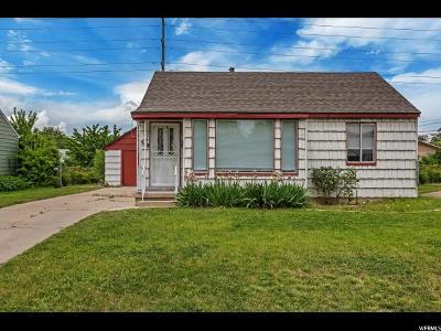 Salt Lake City UT Single Family Home For Sale: $255,000