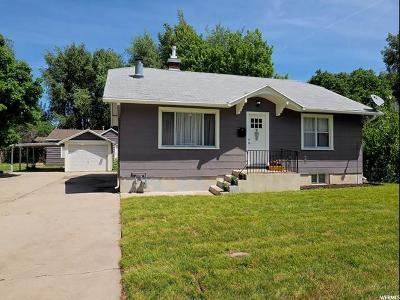 Ogden UT Single Family Home For Sale: $181,500