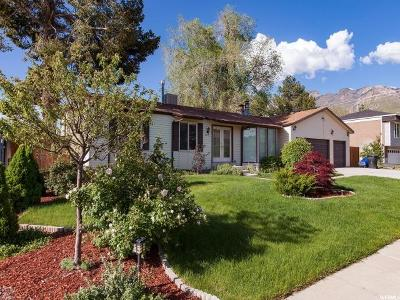 Cottonwood Heights Single Family Home For Sale: 2671 E Manor Dr