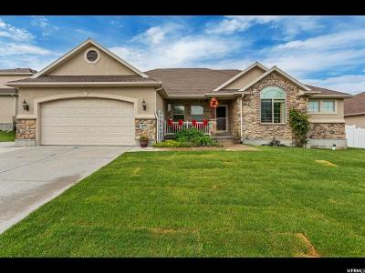 Stansbury Park Single Family Home For Sale: 478 E Manchester