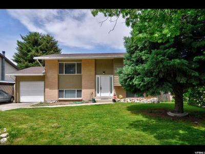 West Valley City Single Family Home For Sale: 4426 S Wild Cherry Cir W