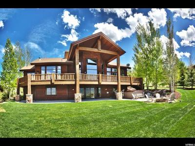Park City Single Family Home For Sale: 5860 Mountain Ranch Dr
