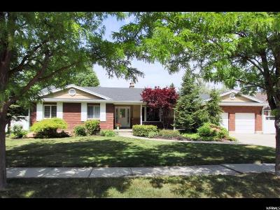Holladay Single Family Home For Sale: 5810 S 2100 E
