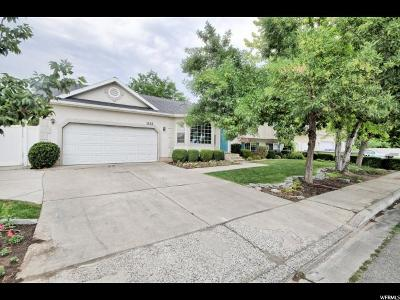 Pleasant Grove Single Family Home For Sale: 1558 W 800 N
