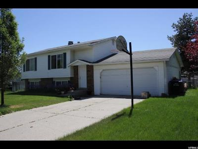 West Jordan Single Family Home For Sale: 4963 W Gaskill Way S