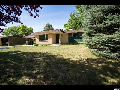 Ogden UT Single Family Home For Sale: $215,000