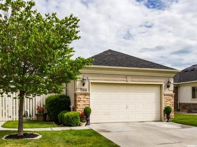 West Jordan Single Family Home For Sale: 1166 W Hollow View Way S