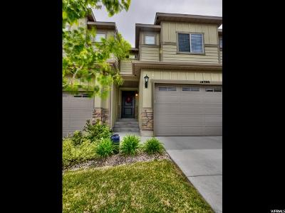 Draper Townhouse For Sale: 14789 S Cardiff Park Bay