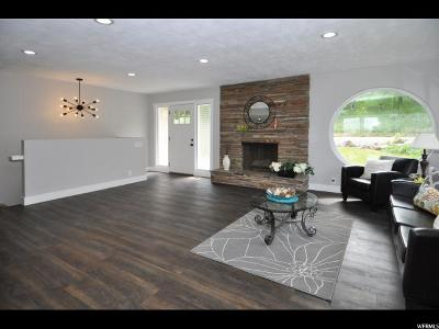 Holladay Single Family Home For Sale: 4676 S Stratton Dr S