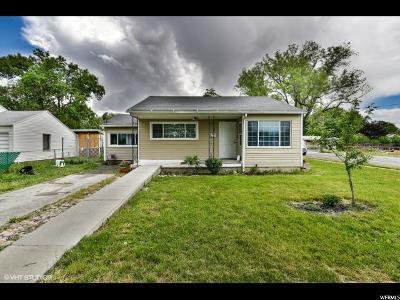 Salt Lake City UT Single Family Home For Sale: $225,000
