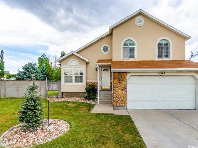 West Valley City Single Family Home For Sale: 1386 W Kingspointe Ln