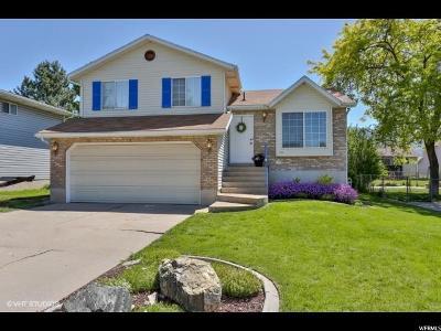 Layton UT Single Family Home For Sale: $259,000
