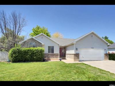 Clinton Single Family Home For Sale: 1909 N 750 W