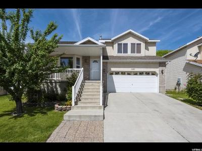 West Valley City Single Family Home For Sale: 3162 S Ivy Park Dr