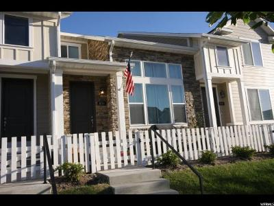 Bluffdale Townhouse For Sale: 1038 W Narrows Ln S #278