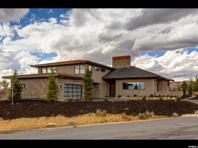 Park City Single Family Home For Sale: 7901 West Hills #56
