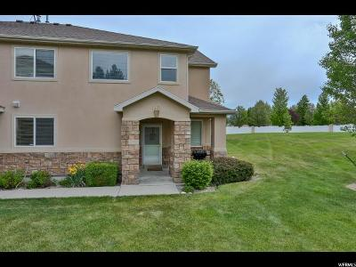 West Valley City Townhouse For Sale: 3471 S Bamburgh Way W
