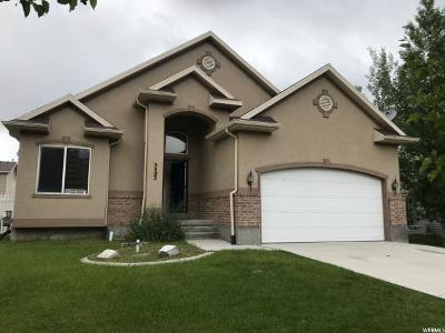 Stansbury Park Single Family Home For Sale: 5483 N Lorranine Way
