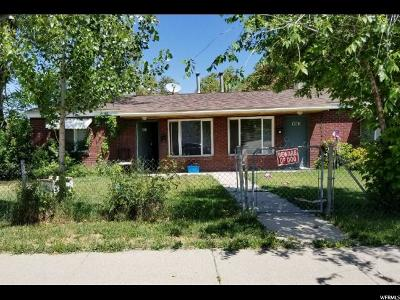 Salt Lake City UT Multi Family Home For Sale: $279,900