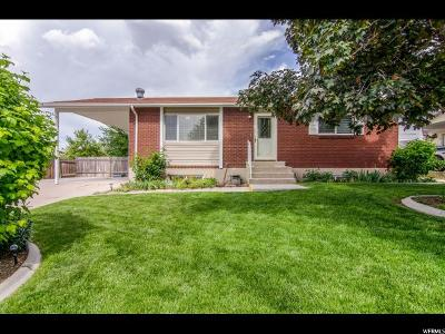 West Valley City Single Family Home For Sale: 3671 Jodie Ln