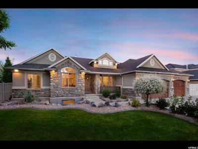 South Jordan Single Family Home For Sale: 11247 S Alta Peak Rd