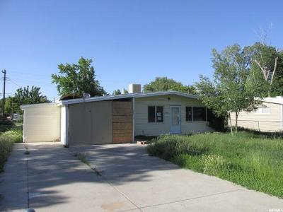 West Valley City Single Family Home For Sale: 3096 W Lehi Dr S