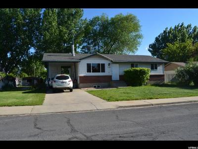 Orem Single Family Home For Sale: 1113 W 85 S S