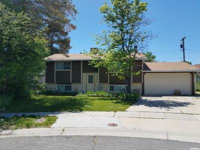 West Valley City Single Family Home For Sale: 4468 S Red Blossom Cir