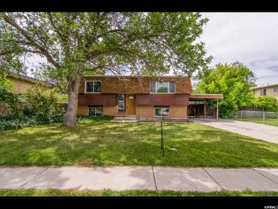 West Valley City Single Family Home For Sale: 3120 S 4180 W