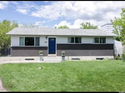 American Fork Single Family Home For Sale: 264 S Clegg Cir