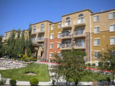 West Valley City Condo For Sale: 3478 Cozy River Place #409