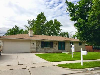 Cottonwood Heights Single Family Home For Sale: 1776 E 7020 S
