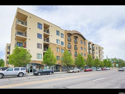 Salt Lake City Condo For Sale: 2150 S Main St W #413