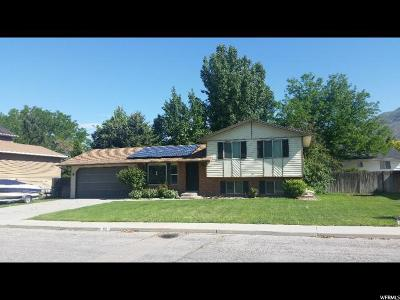 Pleasant Grove Single Family Home For Sale: 112 W 1300 N