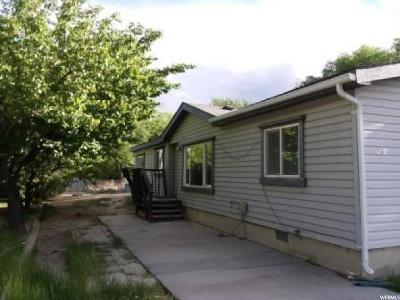 Price UT Single Family Home For Sale: $68,000