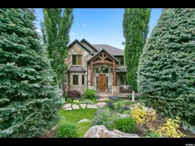 Cottonwood Heights Single Family Home For Sale: 8812 S Sutton Way